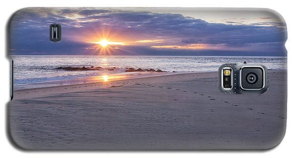 Cape May Point Winter Sunset Galaxy S5 Case