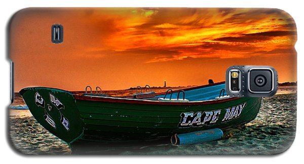 Cape May Sunset Galaxy S5 Case