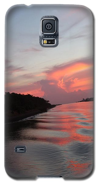 Galaxy S5 Case featuring the photograph Cape May Twilight by Vadim Levin