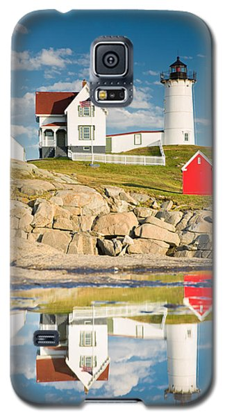 Cape Neddick Light  Reflections Galaxy S5 Case