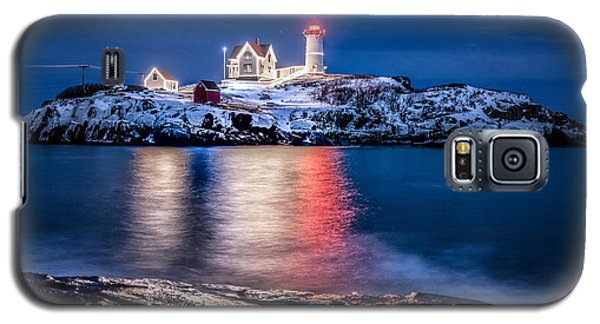 Cape Neddick Lighthouse Galaxy S5 Case by Robert Clifford