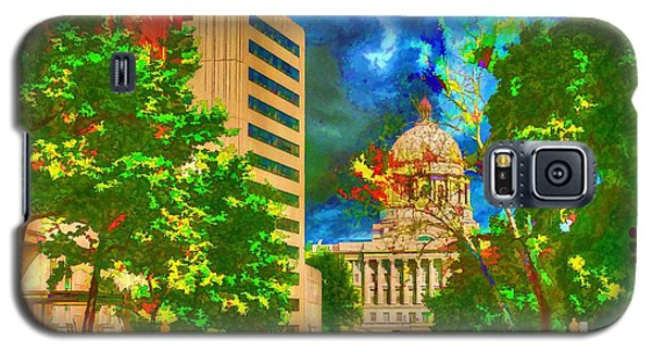 Capital - Jefferson City Missouri - Painting Galaxy S5 Case