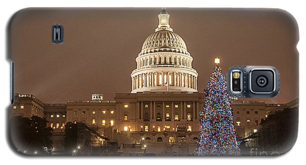Capitol Christmas Galaxy S5 Case
