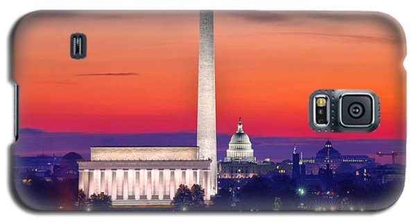 Capitol Dawn Galaxy S5 Case by Mitch Cat