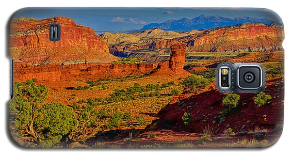 Capitol Reef Landscape Galaxy S5 Case