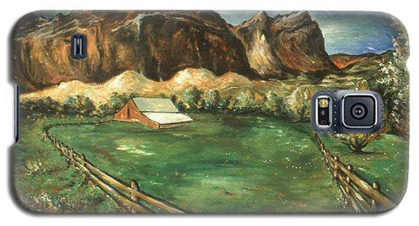 Capitol Reef Utah - Landscape Art Painting Galaxy S5 Case