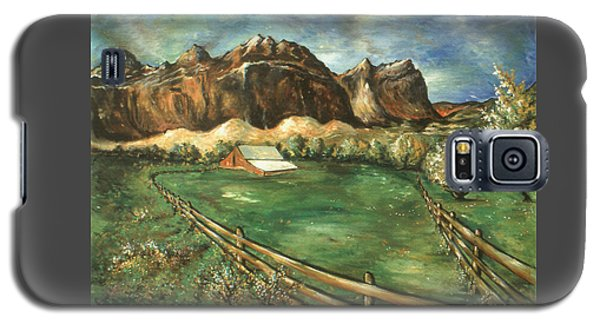 Capitol Reef Utah - Landscape Art Painting Galaxy S5 Case