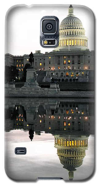Capitol Reflection Galaxy S5 Case by Mitch Cat