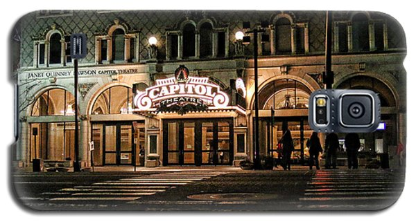 Galaxy S5 Case featuring the photograph Capitol Theatre by Ely Arsha