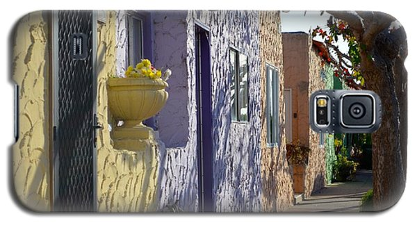 Galaxy S5 Case featuring the photograph Capitola Beach Homes by Alex King