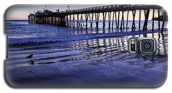 Capitola Wharf Reflections Galaxy S5 Case