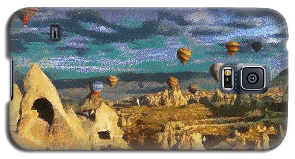 Cappadocia Ballons Fiesta Galaxy S5 Case by Georgi Dimitrov