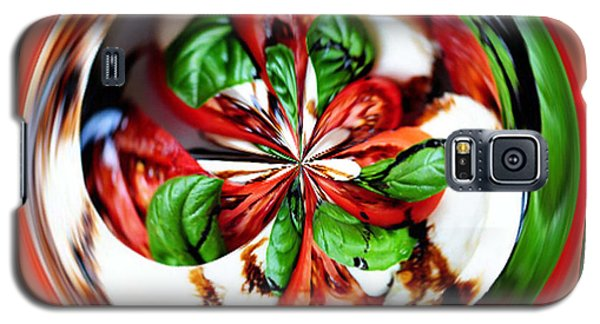 Caprese Salad Orb Galaxy S5 Case by Paula Ayers