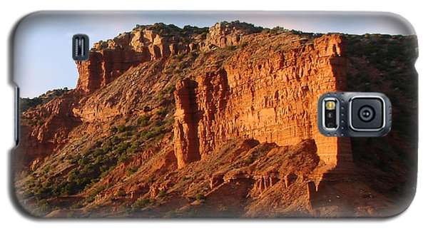 Galaxy S5 Case featuring the photograph Caprock Canyon by Linda Cox