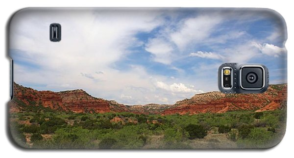 Galaxy S5 Case featuring the photograph Caprock Canyons State Park 2 by Elizabeth Budd