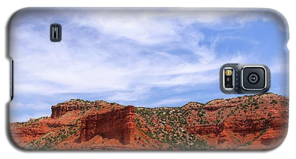 Galaxy S5 Case featuring the photograph Caprock Canyons State Park by Elizabeth Budd