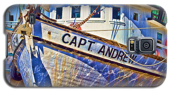 Capt Andrew Shrimper Galaxy S5 Case by Bill Barber