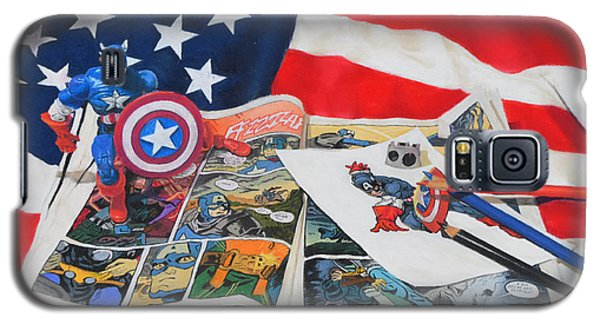 Captain America Galaxy S5 Case