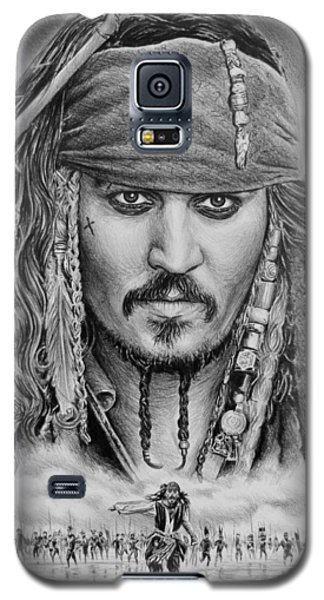 Johnny Depp Galaxy S5 Case - Captain Jack Sparrow by Andrew Read
