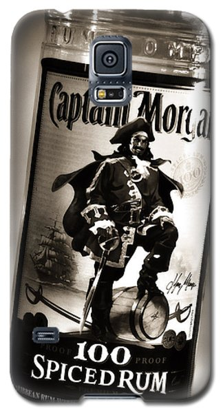 Captain Morgan Black And White Galaxy S5 Case