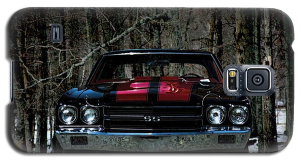 Car Art Chevy Chevelle Ss Hdr Galaxy S5 Case