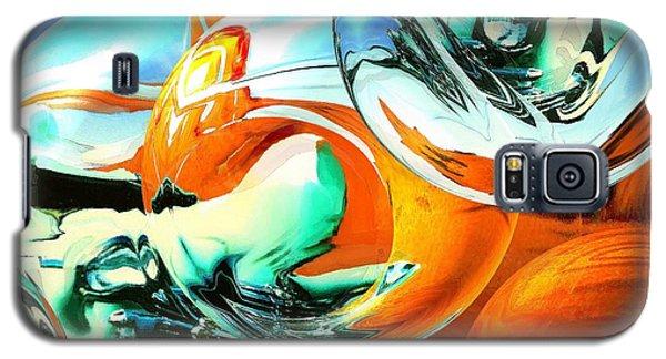 Car Fandango - Abstract Art Galaxy S5 Case by Art America Gallery Peter Potter