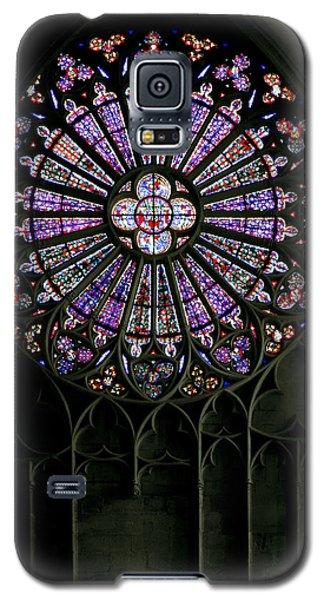 Carcassonne Rose Window Galaxy S5 Case