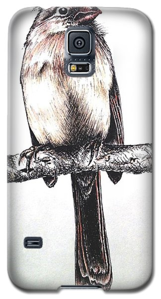 Cardinal Female Galaxy S5 Case by Katharina Filus