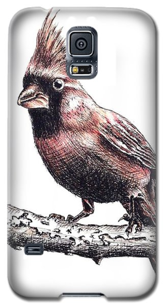 Cardinal Male Galaxy S5 Case by Katharina Filus
