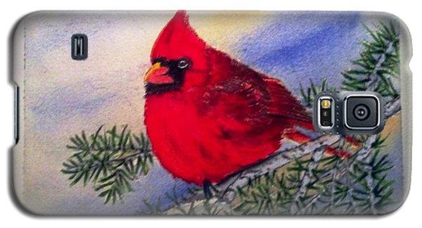 Cardinal Galaxy S5 Case by Richard Benson