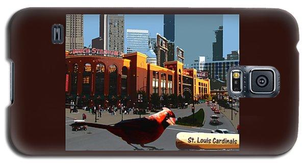 Cardinal Town Galaxy S5 Case by John Freidenberg