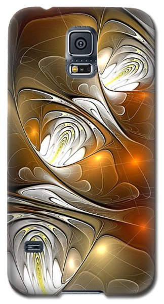 Galaxy S5 Case featuring the digital art Carefree by Anastasiya Malakhova