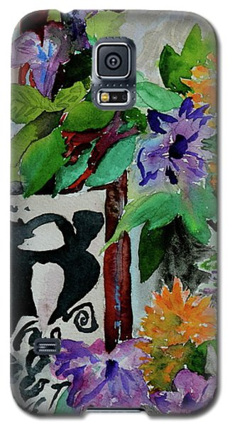 Galaxy S5 Case featuring the painting Carefree by Beverley Harper Tinsley