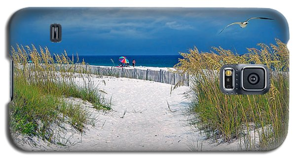 Carefree Days By The Sea Galaxy S5 Case