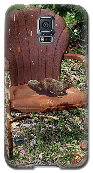Galaxy S5 Case featuring the photograph Careful Where You Sit by Doug Kreuger