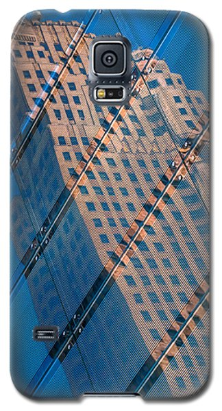 Galaxy S5 Case featuring the photograph Carew Tower Reflection by Rob Amend