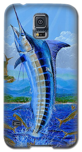 Caribbean Blue Off0041 Galaxy S5 Case by Carey Chen