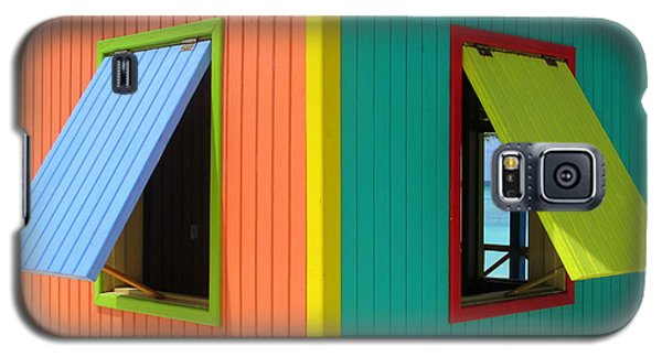 Caribbean Corner 4 Galaxy S5 Case by Randall Weidner