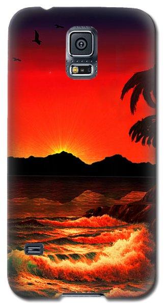 Caribbean Islands Galaxy S5 Case