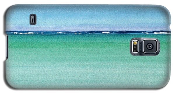 Reaf Ocean Turquoise Waters Square Galaxy S5 Case