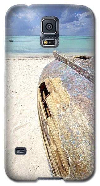 Caribbean Shipwreck Galaxy S5 Case
