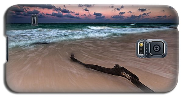 Galaxy S5 Case featuring the photograph Caribbean Sunset by Mihai Andritoiu