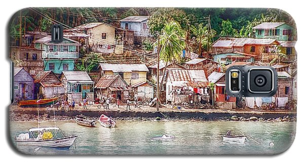 Galaxy S5 Case featuring the photograph Caribbean Village by Hanny Heim