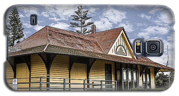 Carlsbad Railroad Depot Galaxy S5 Case