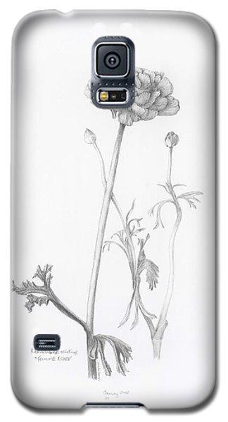 Carlsbad Ranunculus Galaxy S5 Case