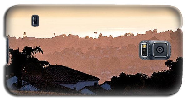 Galaxy S5 Case featuring the digital art Carlsbad Sunset by Kirt Tisdale