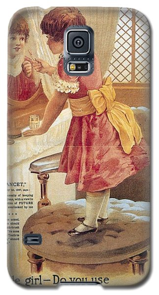 Galaxy S5 Case featuring the photograph Carlvert's Carbolic Tooth Powder Ad by Gianfranco Weiss