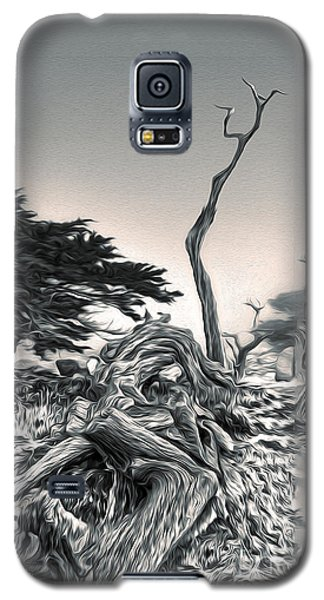 Galaxy S5 Case featuring the painting Carmel by Gregory Dyer
