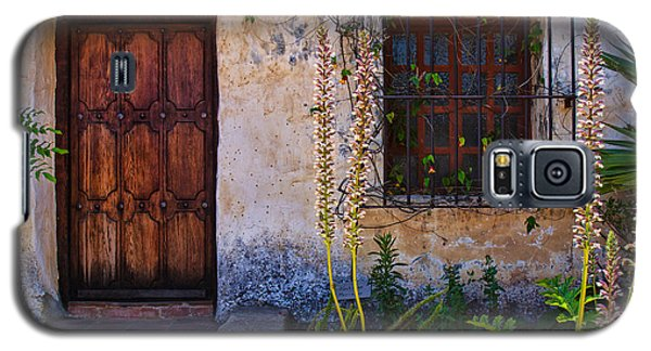 Carmel Mission Living Quarters Galaxy S5 Case