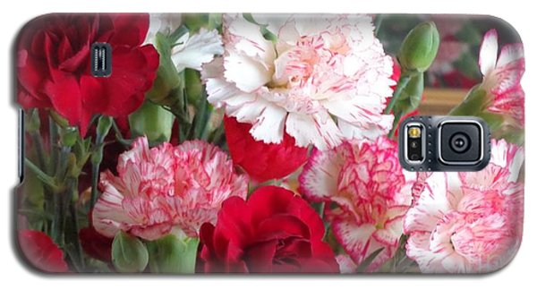 Carnation Cluster Galaxy S5 Case